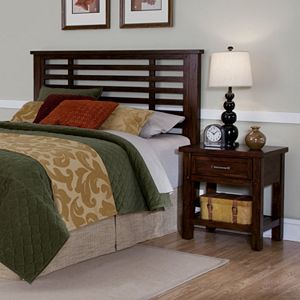 Cabin Creek 2-pc. Queen\/Full Headboard & Nightstand Set