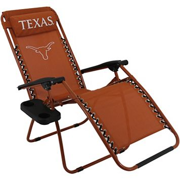 College Covers Texas Longhorns Zero Gravity Chair