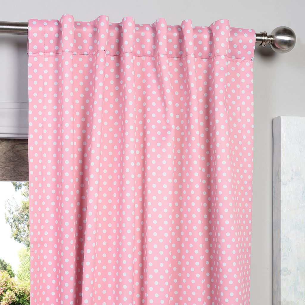 EFF Polka-Dot Blackout Window Panel - 50'' x 84''