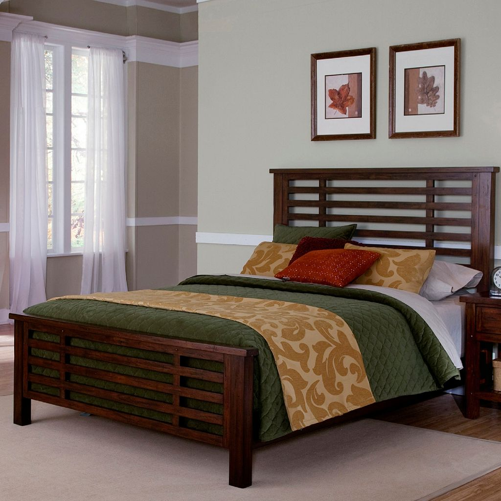 Cabin Creek 3-pc. King Headboard, Footboard and Bed Frame Set