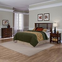 Cabin Creek 3 pc King/California King Headboard, 4-Drawer Chest & Nightstand Set