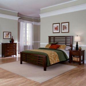 Cabin Creek 5-pc. King Headboard, Footboard, Bed Frame, 4-Drawer Dresser and Nightstand Set