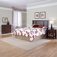 Cabin Creek 3 pc King/California King Headboard, Nightstand & 4-Drawer Chest Set