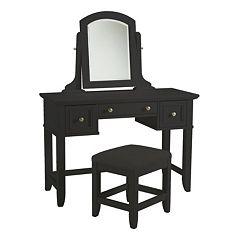 Bedford 3-pc. Vanity Table, Mirror & Bench Set