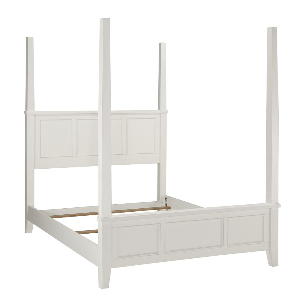Home Styles Naples 3-pc. Queen Headboard, Footboard and Frame Poster Bed Set