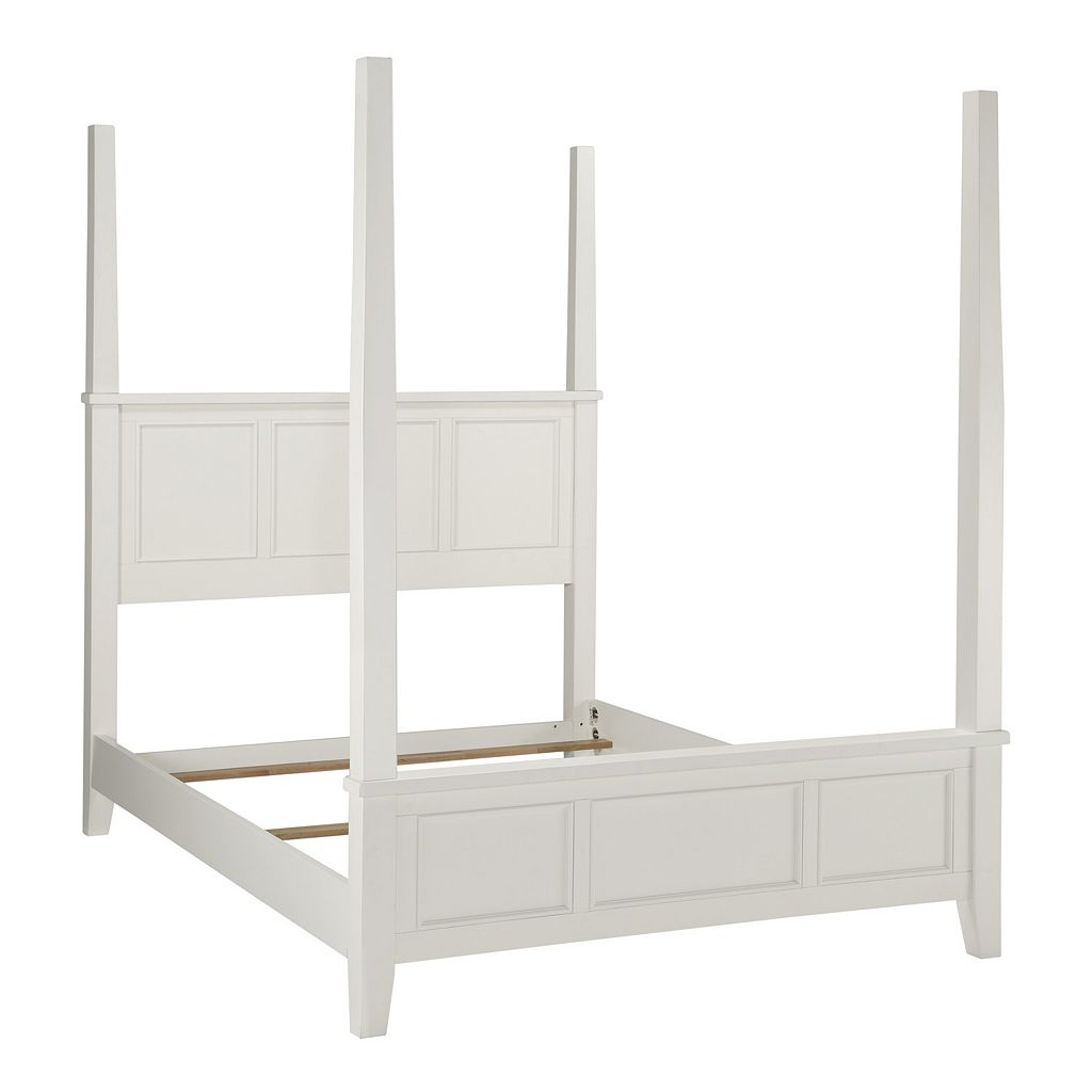 Home Styles Naples 3-pc. King Headboard, Footboard and Frame Poster Bed Set
