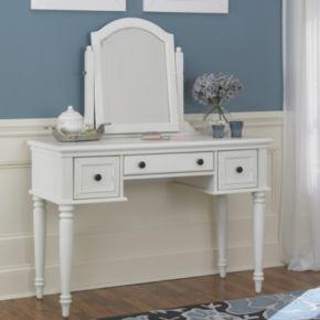 Bermuda 2-pc. Vanity Table and Mirror Set