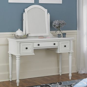 Bermuda 2-pc. Vanity Table & Mirror Set