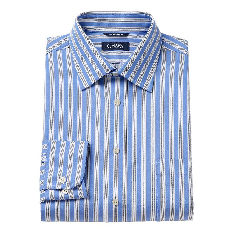 Men's Chaps Classic-Fit No-Iron Dress Shirt