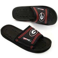 Youth Georgia Bulldogs Slide Sandals