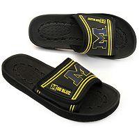 Michigan Wolverines Slide Sandals - Youth