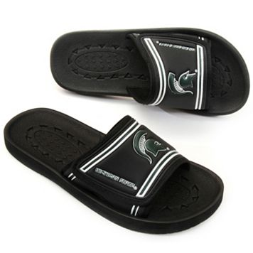 Michigan State Spartans Slide Sandals - Youth