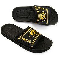 Youth Iowa Hawkeyes Slide Sandals