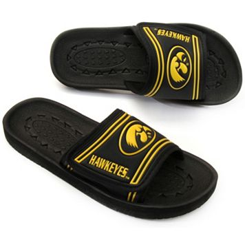 Youth Iowa Hawkeyes Slide Sandals