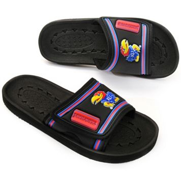 Youth Kansas Jayhawks Slide Sandals