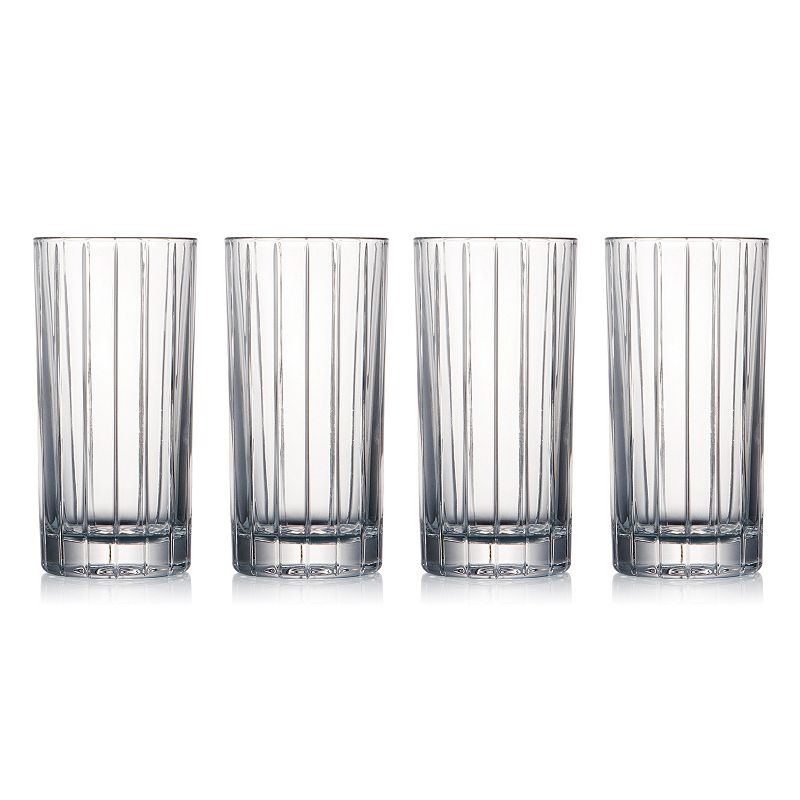 Celebration Crystal Hi Line 4-pc. Highball Glass Set