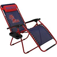 College Covers Ole Miss Rebels Zero Gravity Chair
