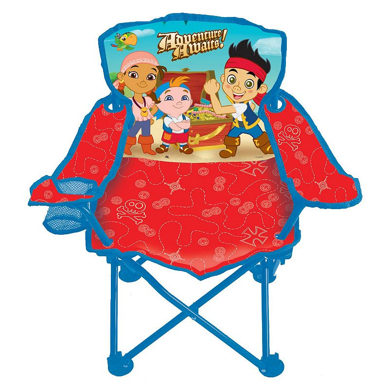 DISNEY JAKE AND THE NEVER LAND PIRATES FOLD 39 N GO CHAIR BY