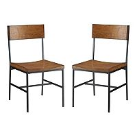 Carolina Cottage Berkshire 2 pc Dining Chair Set