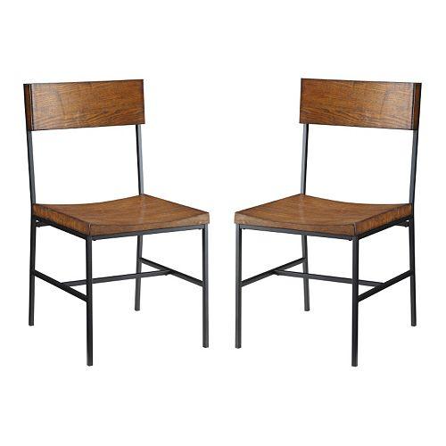 Carolina Cottage Berkshire 2-pc. Dining Chair Set