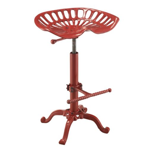 Carolina Cottage Adjustable Tractor Stool