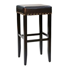 Carolina Cottage Romero Brown Bar Stool