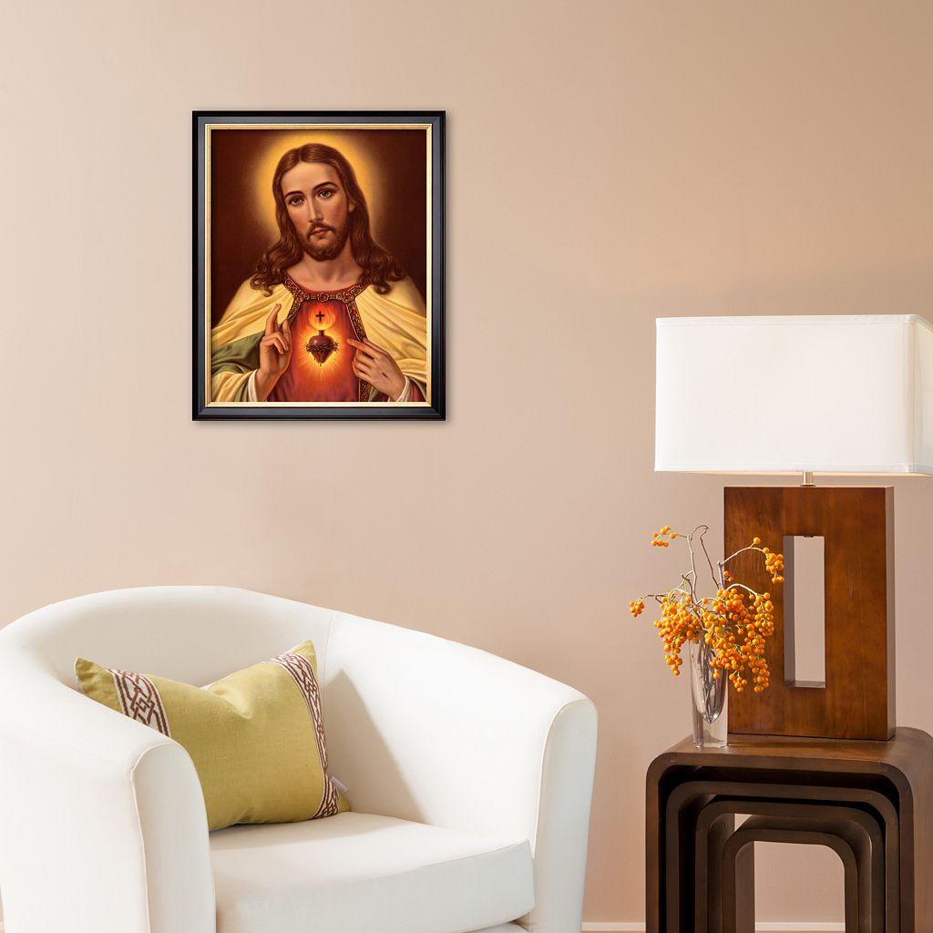 Art.com Sacred Heart of Jesus Framed Art Print