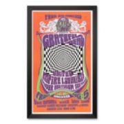 "Art.com ""Grateful Dead in Concert, 1966"" Framed Art Print by Bob Masse"