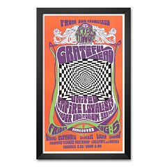 Art.com 'Grateful Dead in Concert, 1966' Framed Art Print by Bob Masse