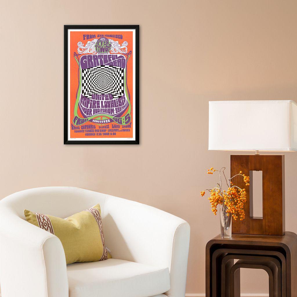 Art.com Grateful Dead in Concert, 1966 Framed Art Print by Bob Masse