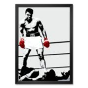"Art.com ""Muhammad Ali: Gloves"" Framed Art Print"