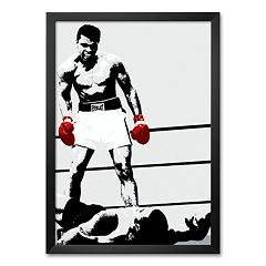 Art.com 'Muhammad Ali: Gloves' Framed Art Print