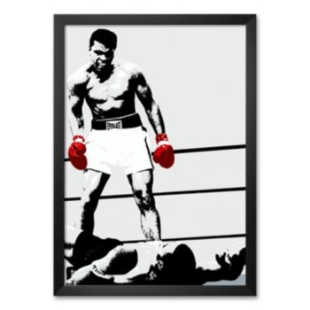 Art.com Muhammad Ali: Gloves Framed Art Print