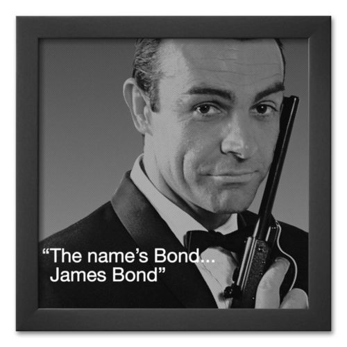 Art.com James Bond: Bond Framed Art Print
