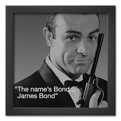 Art.com James Bond: Bond Framed Art Print