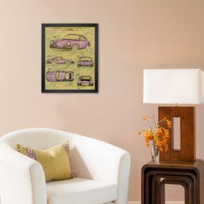 Art.com Porsche Patent Framed Art Print