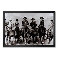 Art.com 'The Magnificent Seven' Framed Art Print