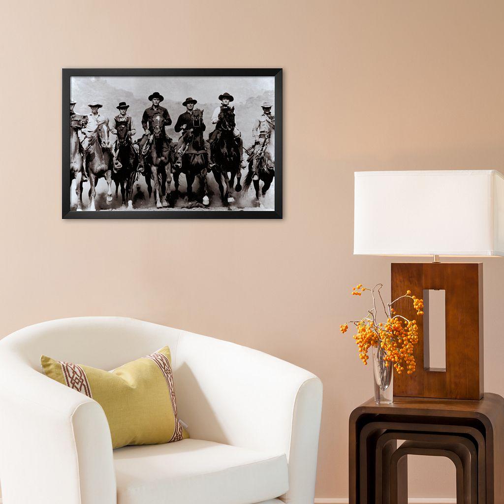 Art.com The Magnificent Seven Framed Art Print