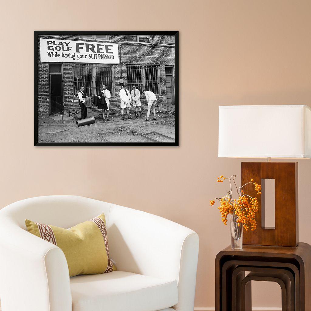 Art.com Free Golf Framed Art Print