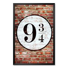 Art.com 'Platform 9 3/4 King's Cross' Framed Art Print