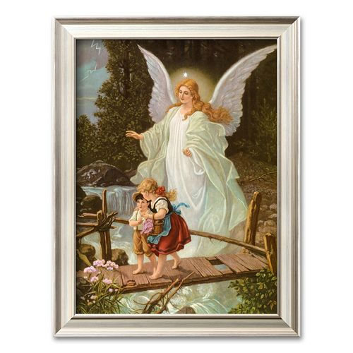 """Art.com """"Heilige Schutzengel"""" Framed Art Print"""