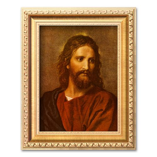 "Art.com ""Christ at Thirty-Three"" Framed Art Print by Heinrich Hofmann"