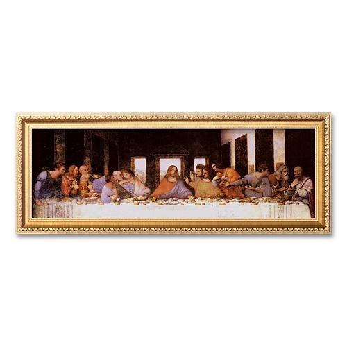 "Art.com ""The Last Supper, c.1498"" Framed Art Print by Leonardo da Vinci"