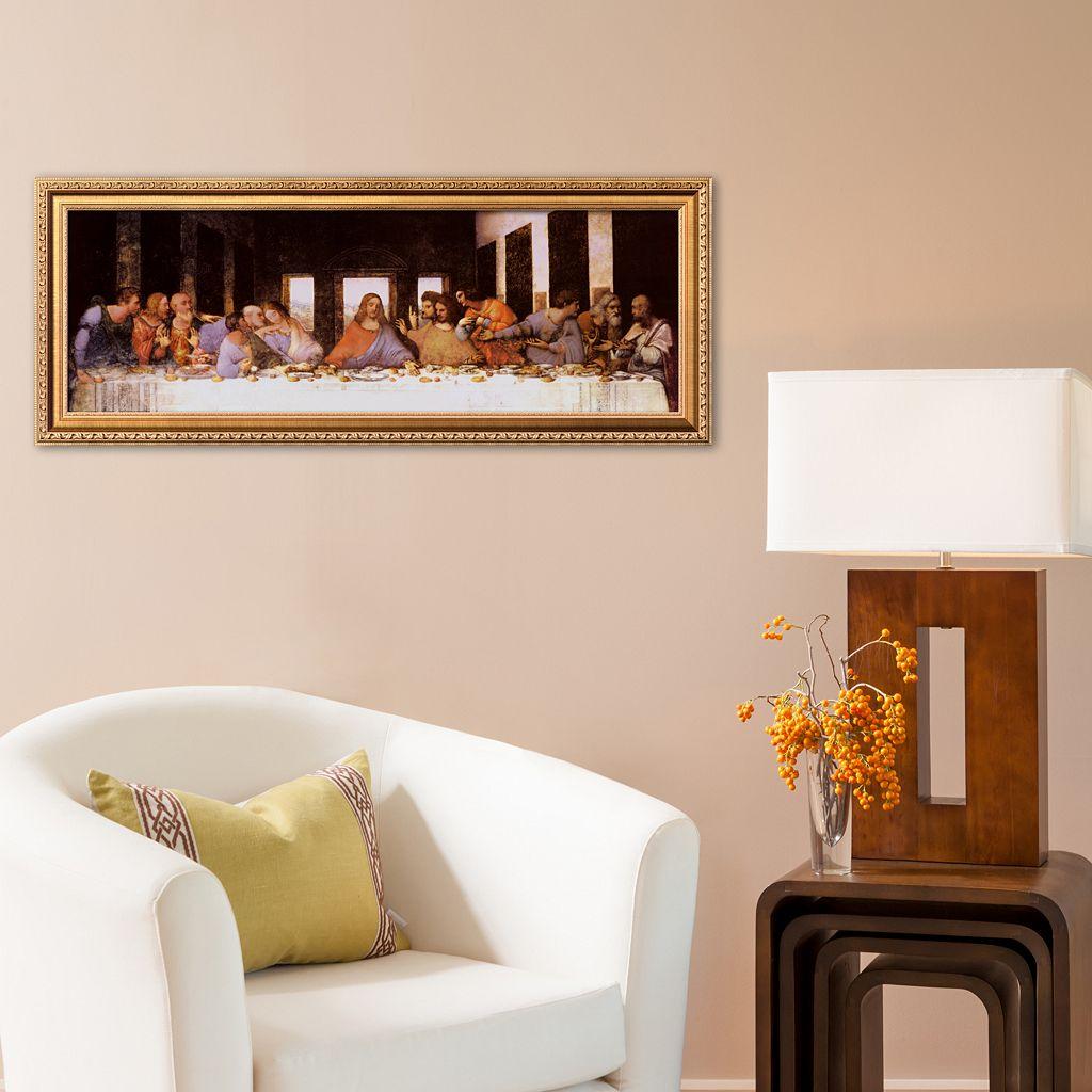 Art.com The Last Supper, c.1498 Framed Art Print by Leonardo da Vinci