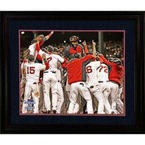 Steiner Sports Boston Red Sox 2013 World Series Champions Celebration 8'' x 10'' Framed Photo