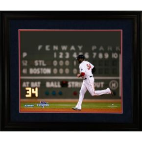 Steiner Sports Boston Red Sox David Ortiz 2013 World Series MVP 16'' x 20'' Framed Photo