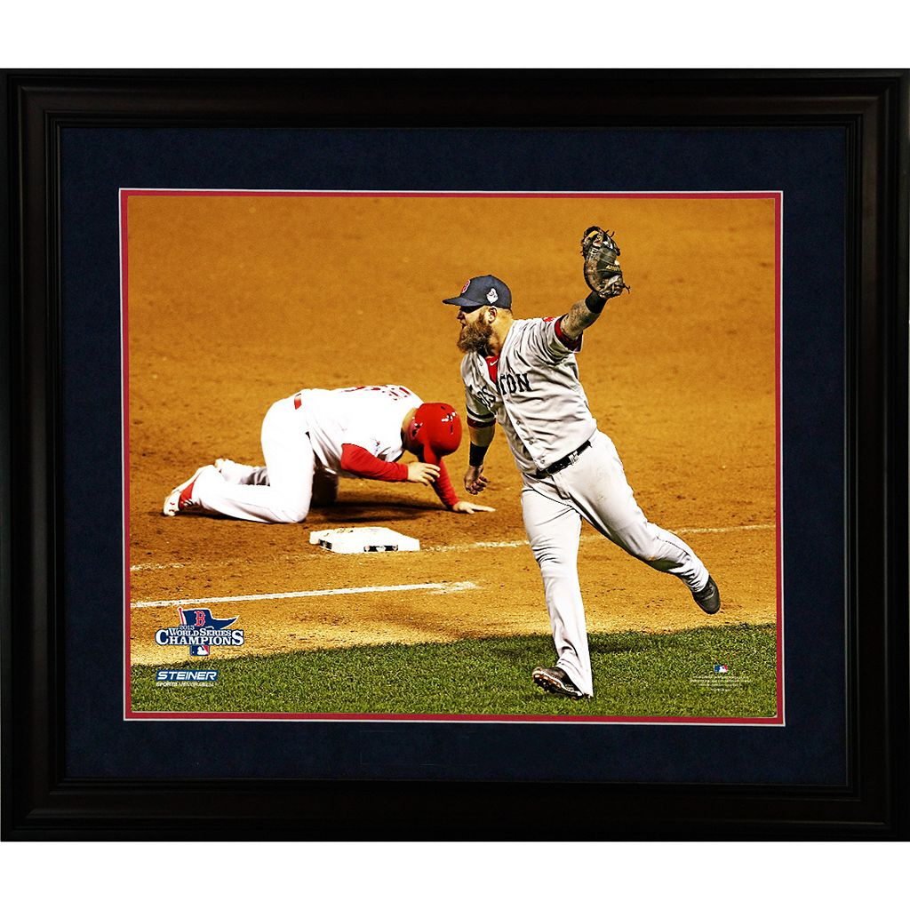 Steiner Sports Boston Red Sox 2013 World Series Champions Key Moment 16