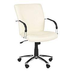Safavieh Lysette White Desk Chair