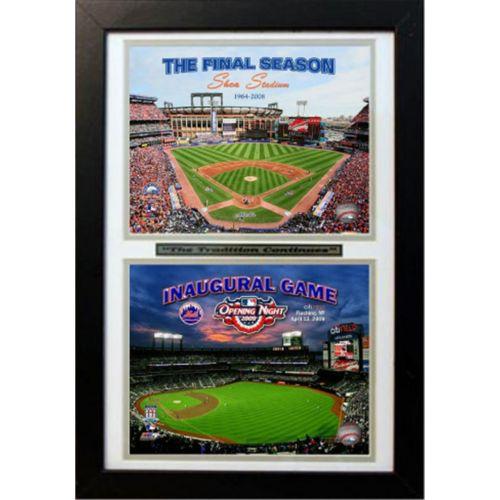 New York Mets Double Custom Frame