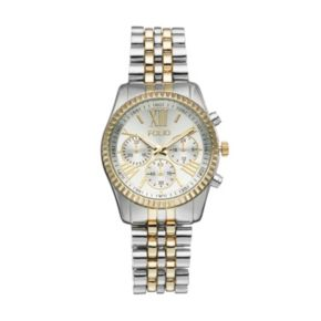 Folio Women's Two Tone Stainless Steel Watch